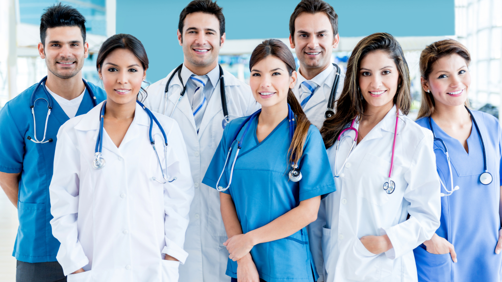 We specialize in hiring healthcare professionals.